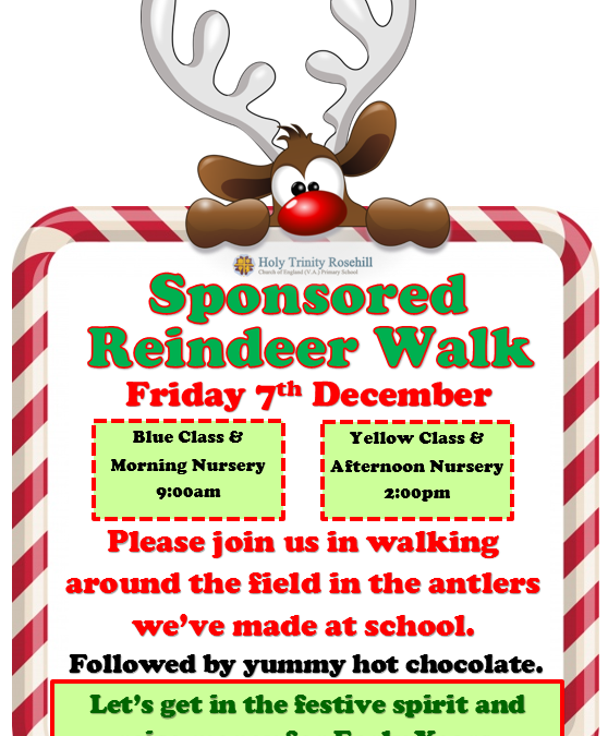 Early Years Reindeer Walk