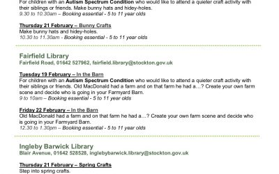 Half-Term Library Events