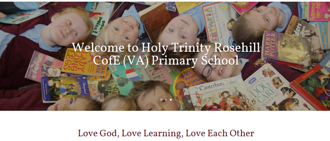 """Why should you make Holy Trinity Rosehill school your first choice? Our children say here's why………."""