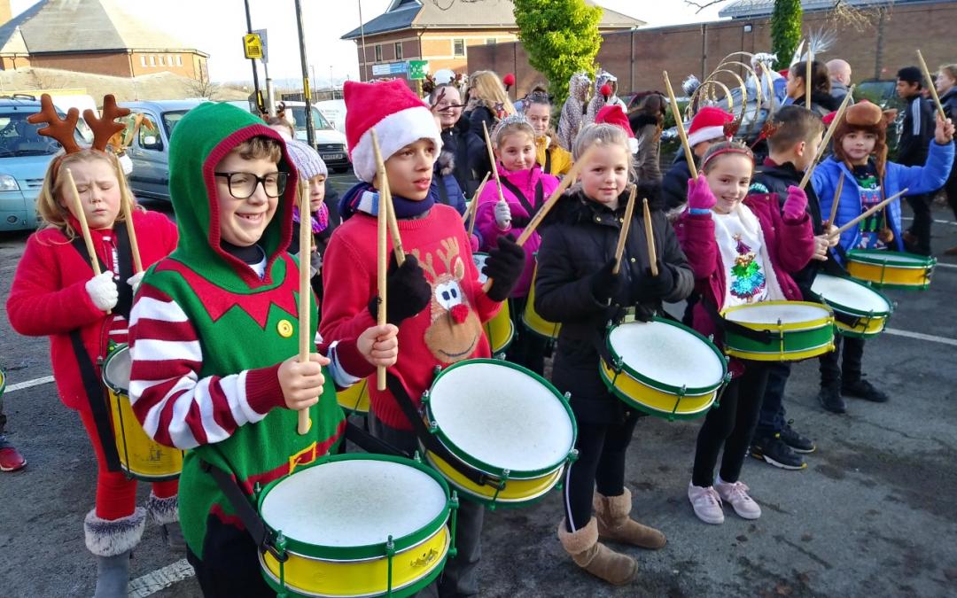 Reindeer Parade!