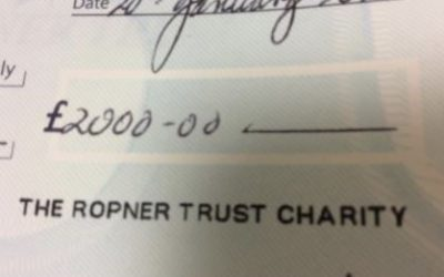 Donation from Ropner Trust